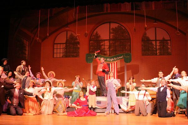 Cast of Music Man