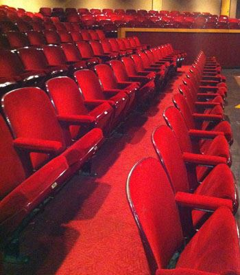 Small Theatre Audience Seating