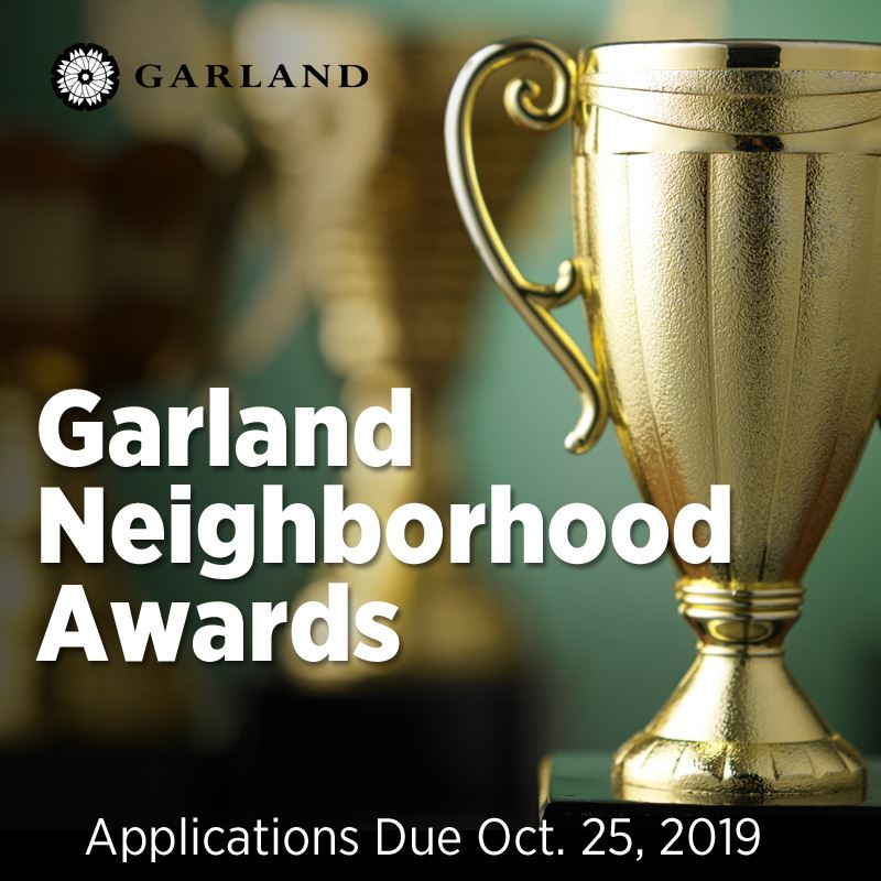 2019 Garland Neighborhood Award