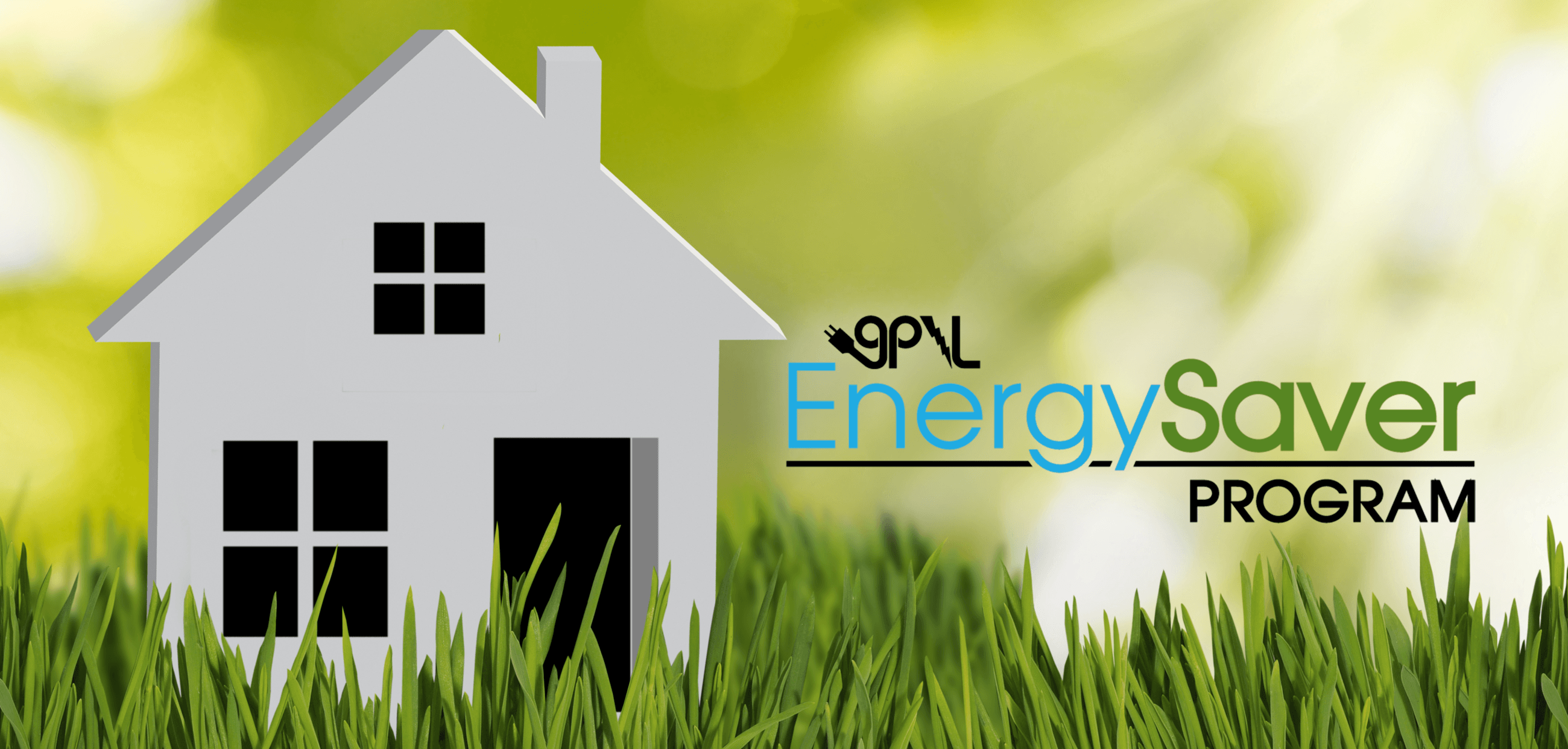 Energy Saver Logo with house