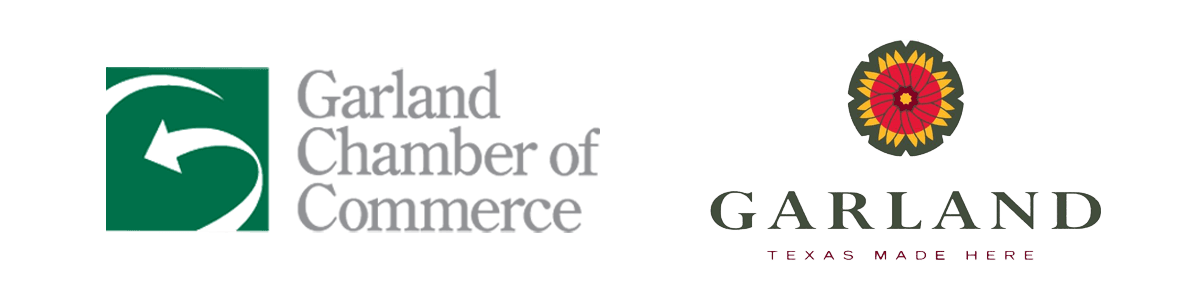 City of Garland and Chamber of Commerce logo