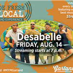 Virtual Concert Made Fresh and Local with band Desabelle Aug 14