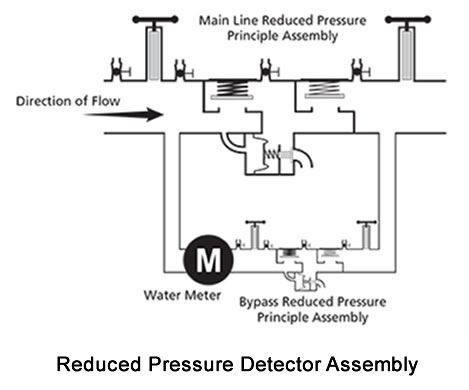 Reduced Pressure Detector Assembly
