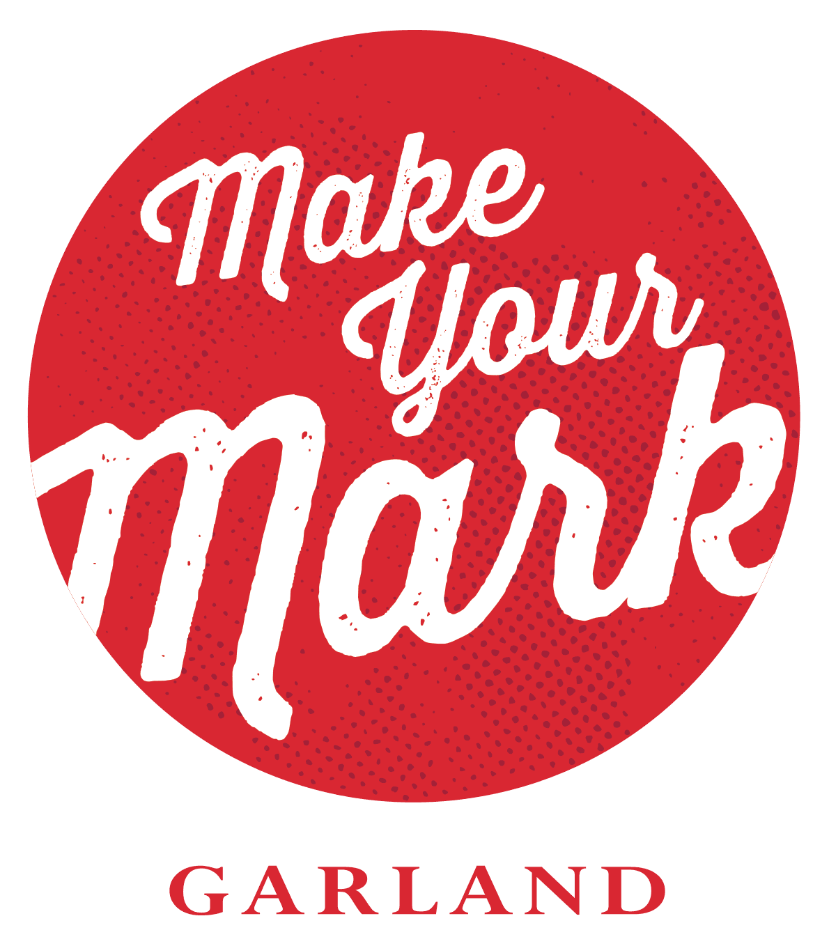 Garland_Make Your Mark_red tag